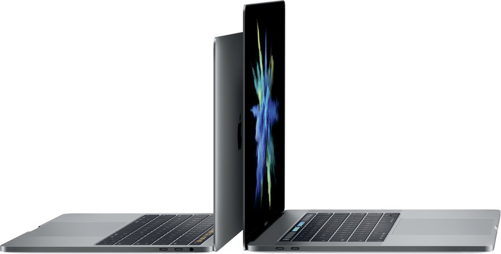 Apple MacBook Pro 13 me Touch Bar, gri