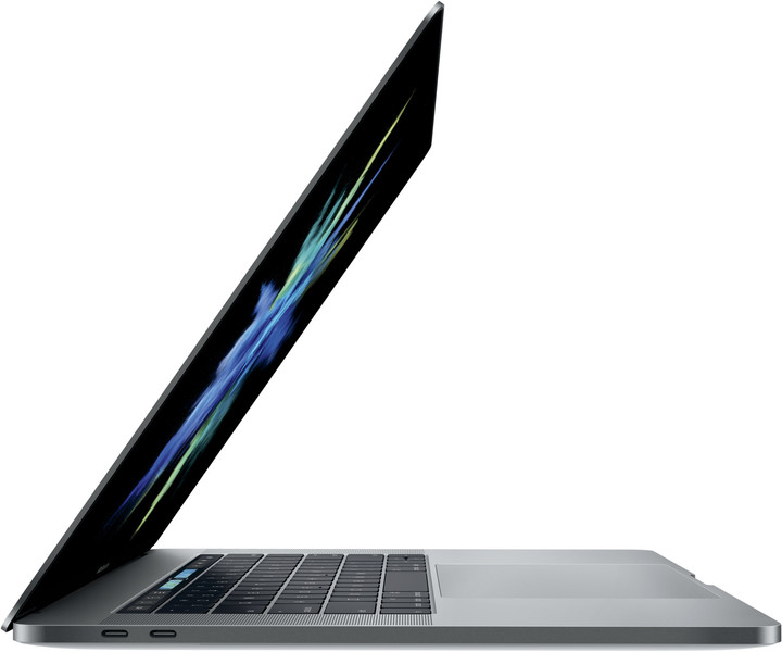 Apple MacBook Pro 15 me Touch Bar, gri