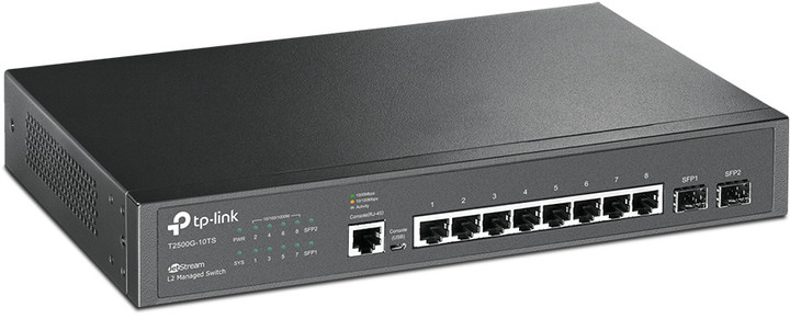 Switch TP-LINK T2500G-10TS (TL-SG3210)