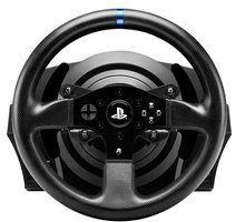 Timon dhe pedale Thrustmaster T300 RS + Sébastien Loeb Rally Evo (PS3, PS4, PC)