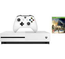 Konzolë XBOX ONE S, 500GB + Assassins Creed: Origins, bardhë