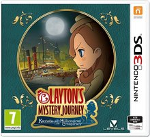 Videolojë Layton's Mystery Journey: Katrielle and the Millionaires Conspiracy (3DS)