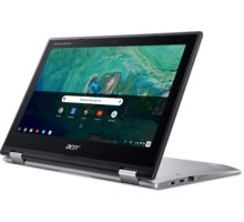 "Laptop Acer Chromebook Spin 11 (CP311-1HN-C3YV), Intel Celeron, 11.6"" HD Touchscreen, 4GB RAM, 32GB SSD, Intel HD Graphics, i argjendtë"
