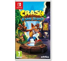 Video lojë Crash Bandicoot N.Sane Trilogy (SWITCH)