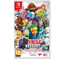 Video lojë Hyrule Warriors: Definitive Edition (SWITCH)