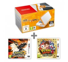Konzolë Nintendo New 2DS XL, + Pokémon Ultra Sun + Yo-Kai Watch 2: Fleshy Souls