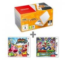 Konzolë Nintendo New 2DS XL, + Kirby Battle Royale + Mario & Luigi: Superstar Saga