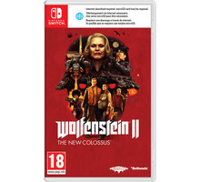 Video lojë Wolfenstein II: The New Colossus (SWITCH)