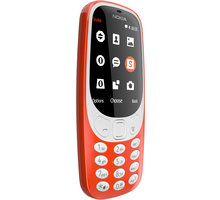 Nokia 3310, Single Sim, i kuq