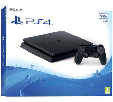 Konzolë PlayStation 4 Slim, 500GB, e zezë